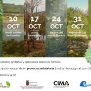 Programa PROVOCA y Red Cambera Septiembre a Noviembre 2020